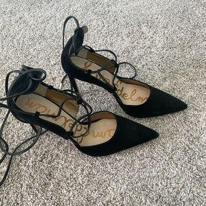 Sam Edelman lace up heels